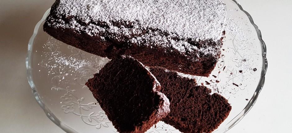 Torta al cioccolato rustica