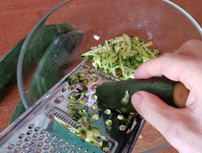 Grattugiato di zucchine
