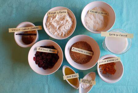 Ingredienti muffin senza grassi