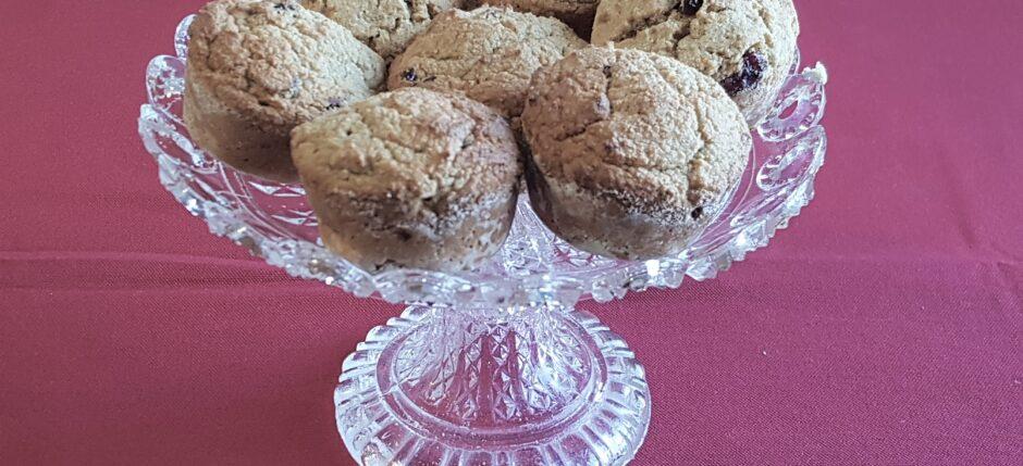 Muffin senza grassi animali